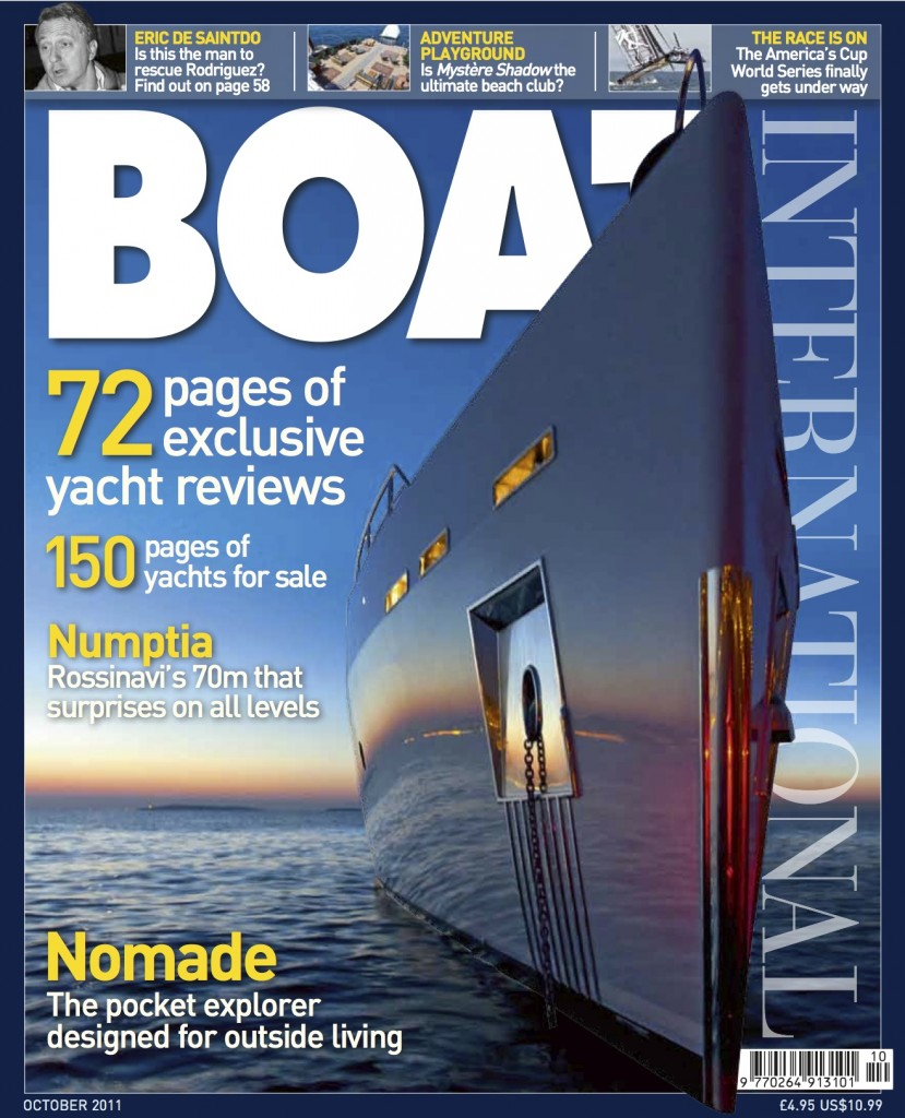 Boat International Cover